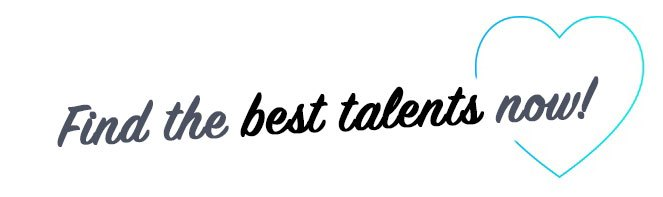 Find the best talents now!